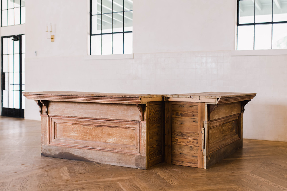 Indiana Bar Distressed New Orleans Wedding Event Rentals