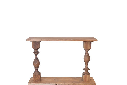 Pedestal Console Tables
