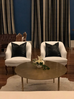 Jane Chairs with Leather