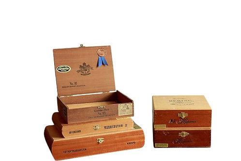 Cigar Boxes, Wood