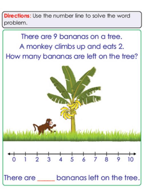 Kindegarten Math Sample Page