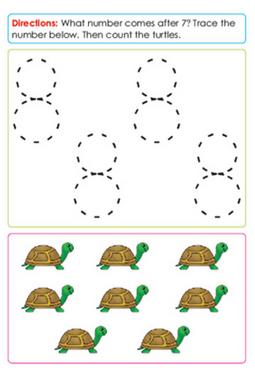Preschool Math Sample Page