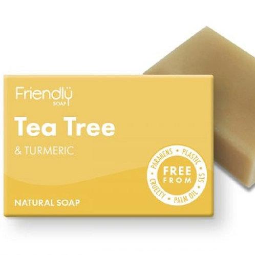 Tea Tree & Turmeric Soap Bar - 95g