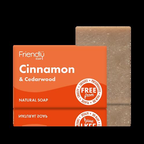 Cinnamon & Cedarwood Soap Bar - 95g