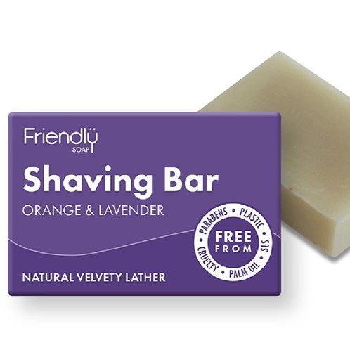 Orange & Lavender ShavingBar - 95g