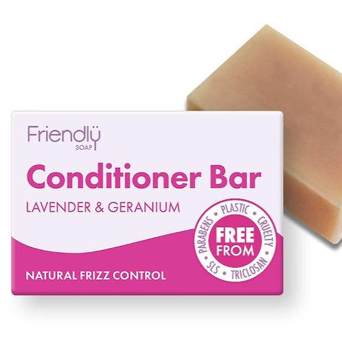 Lavender & Geranium Conditioner Bar - 95g