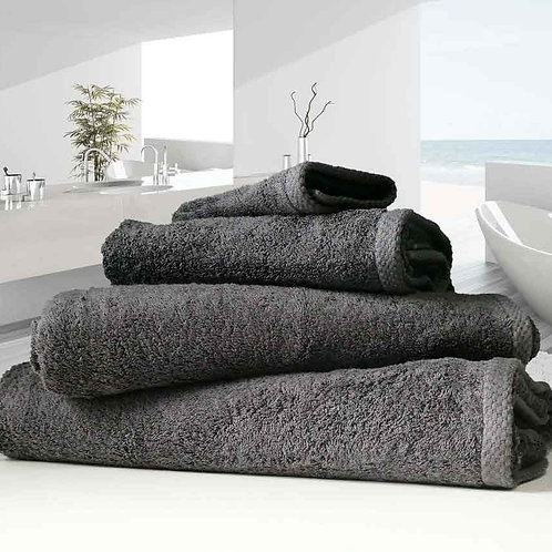 Charcoal Luxury 100% Organic Cotton 500 Gsm Towel