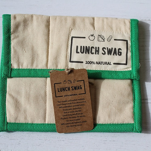 The Lunch Swag - Green