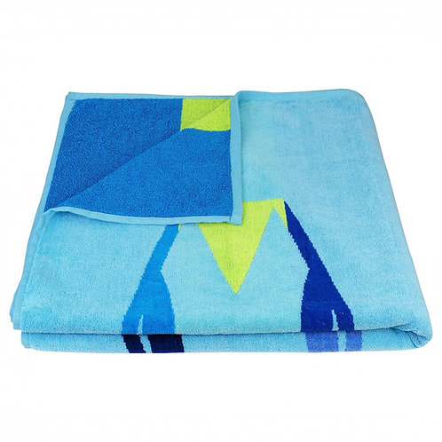Surf Board 100% Recycled Beach Towel