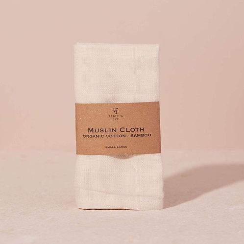 Organic Cotton & Bamboo Muslin