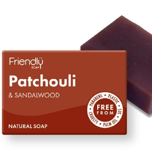 Patchouli & Sandalwood Soap Bar - 95g