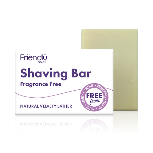Fragrance Free Shaving Bar - 95g