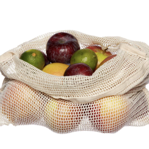 Organic Fruit & Veg Net Bags