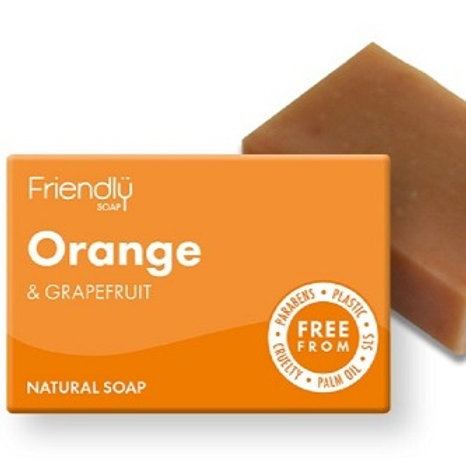Orange & Grapefruit Soap Bar - 95g