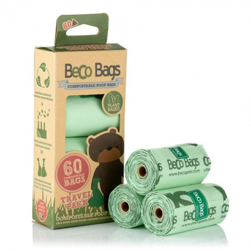 Compostable Unscented Poop Bags - 60