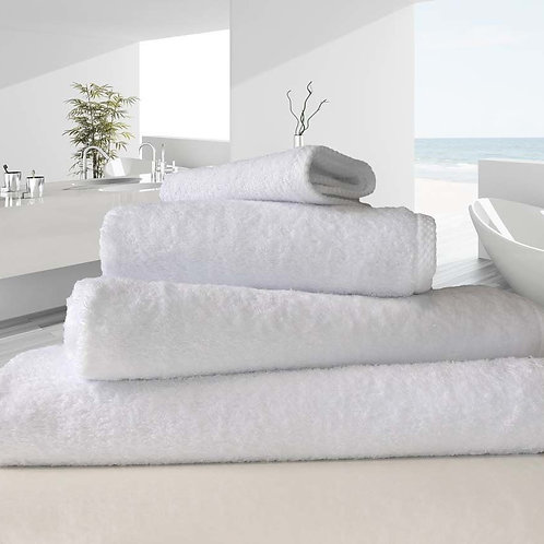 White Luxury 100% Organic Cotton 500 Gsm Towel
