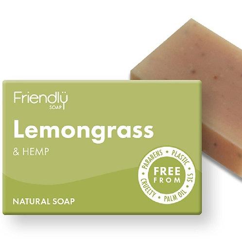 Lemongrass & Hemp Soap Bar - 95g