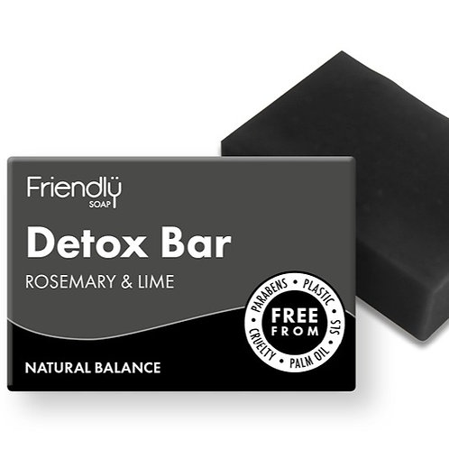 Rosemary & Lime Detox Bar - 95g