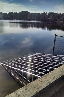 Spillway covers designed and engineered