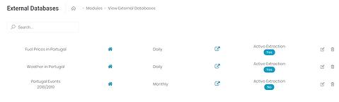 Daaflow External Databases Module