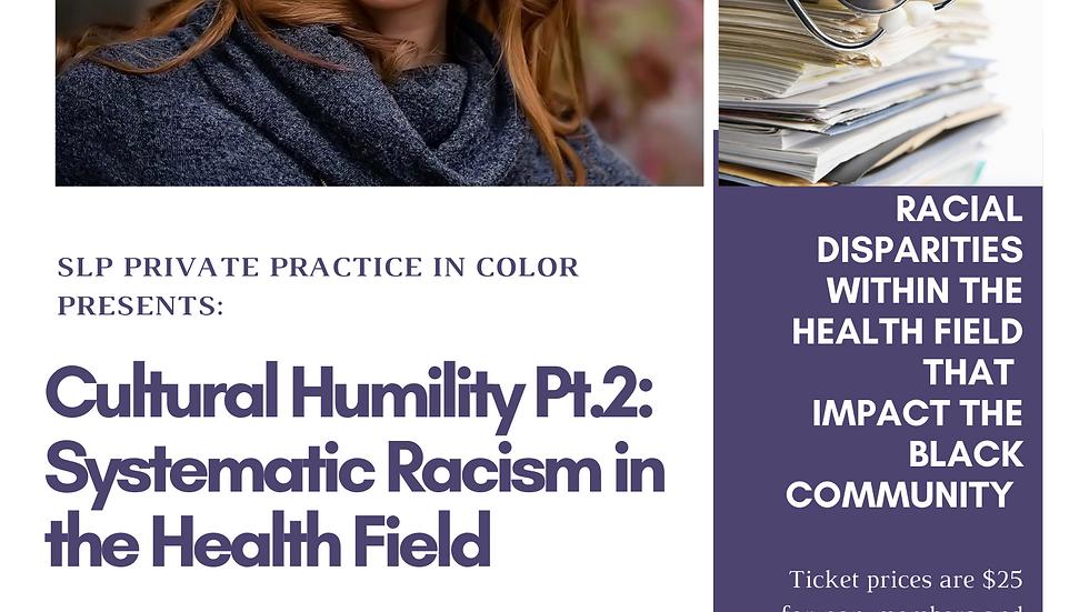Cultural Humility Pt.2 On Demand