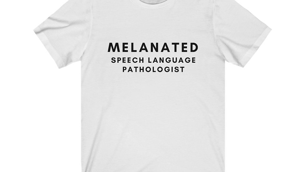 MELANATED SLP TEE