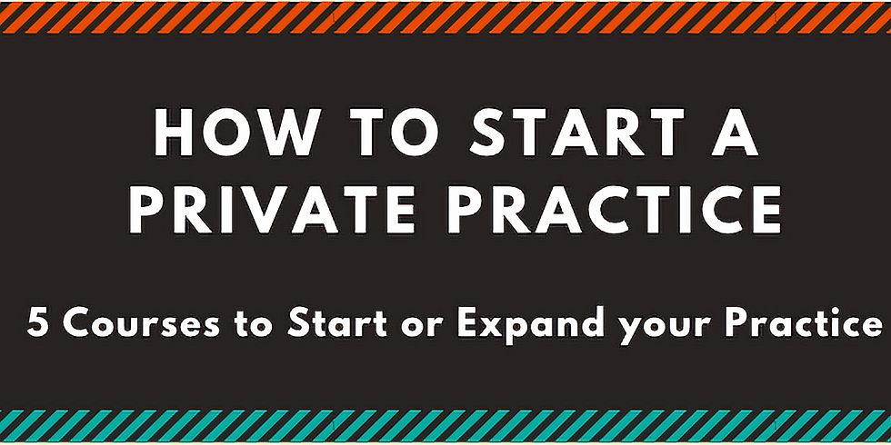 How to Start a Private Practice Series Bundle