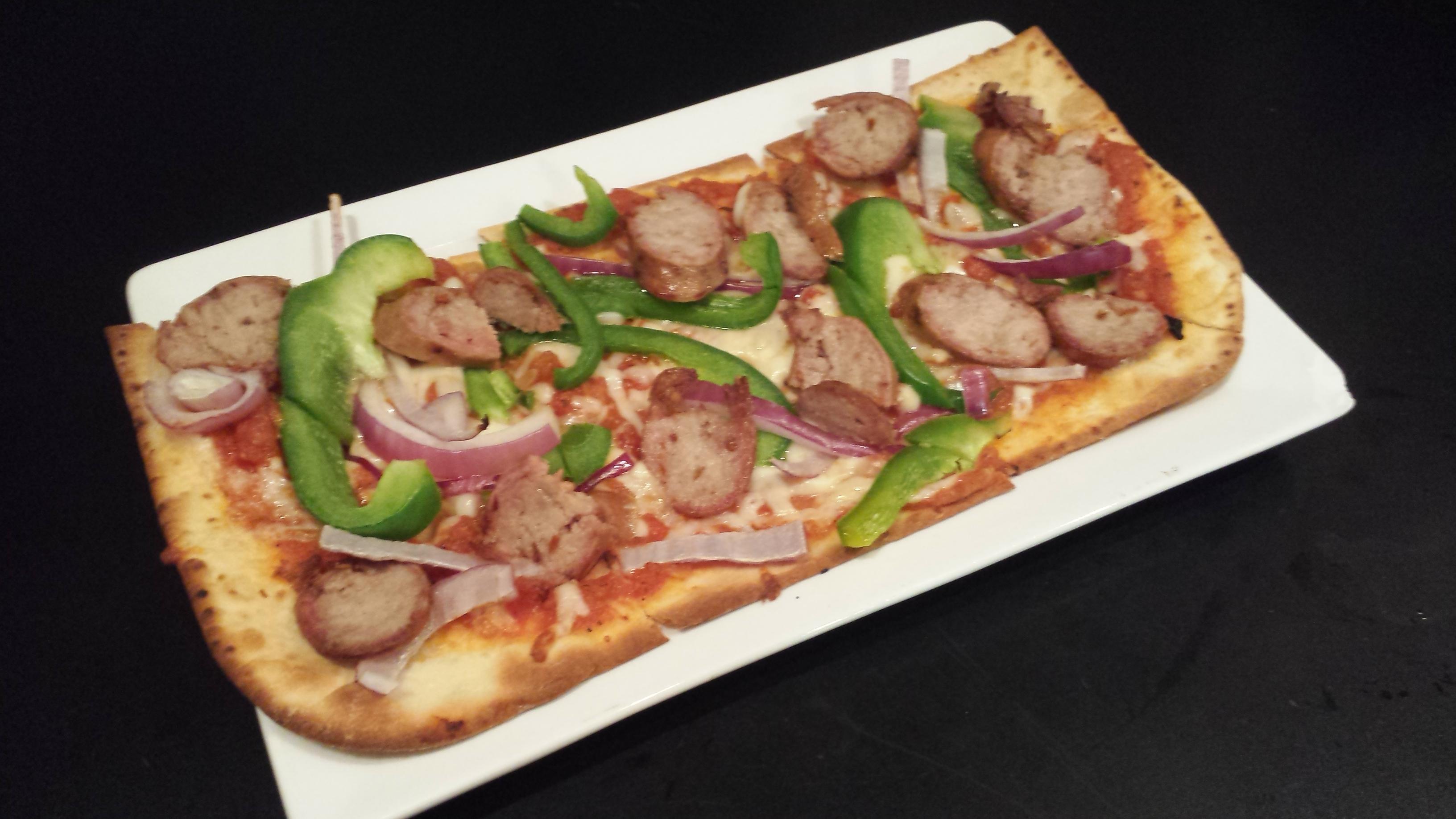 House Smoked Sausage Pizza - $9