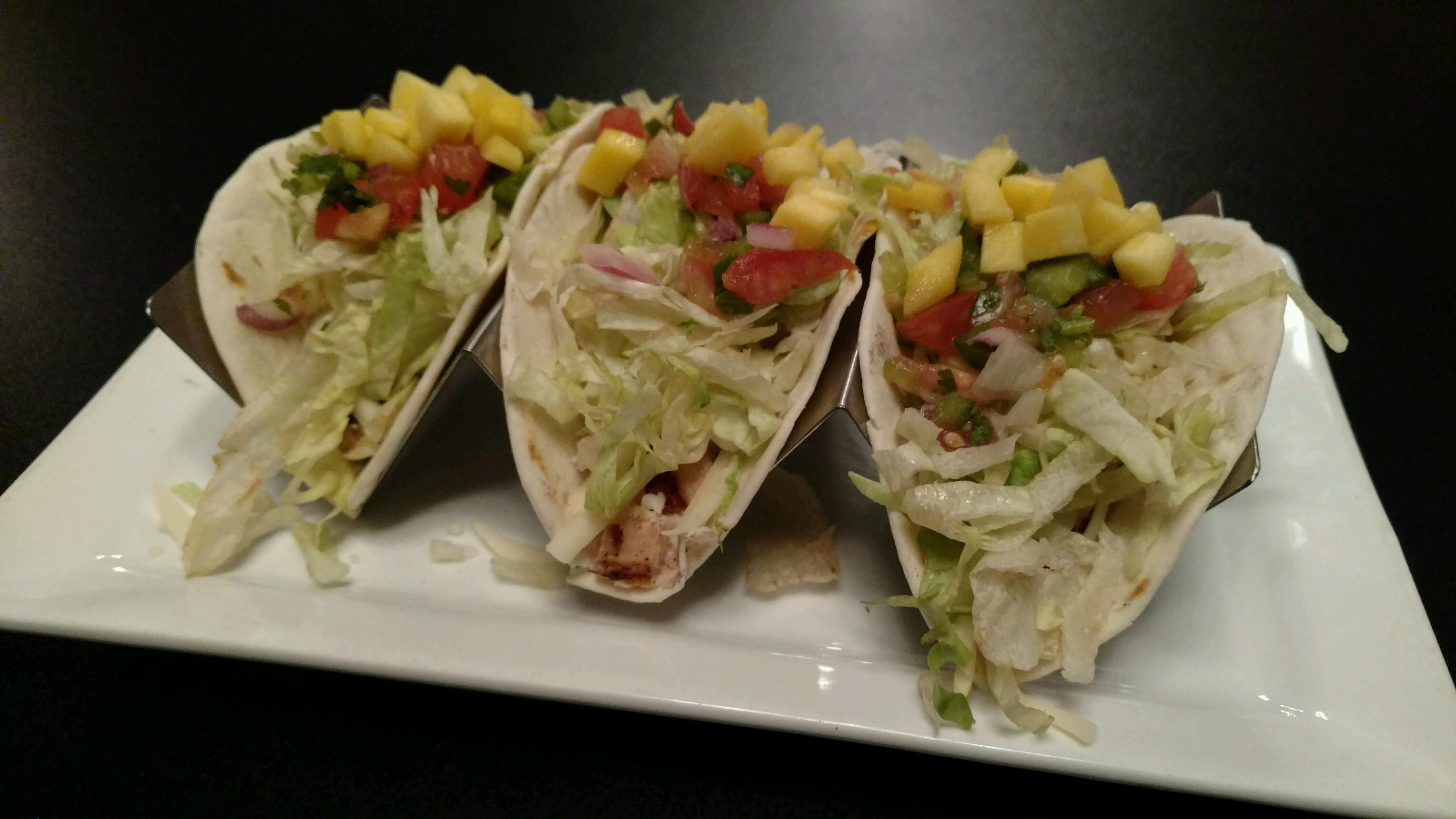 Mango Chicken Tacos