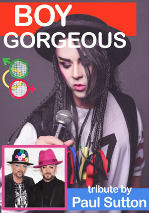 Boy George Tribute Act Show