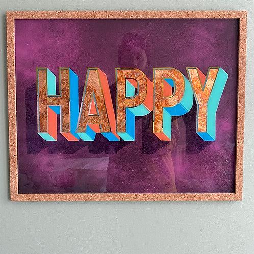 Kopia av HAPPY (lila)