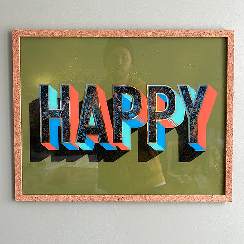 HAPPY (grön)