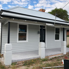 Today we finished this renovated weatherboard cottage in Victoria street looking on point