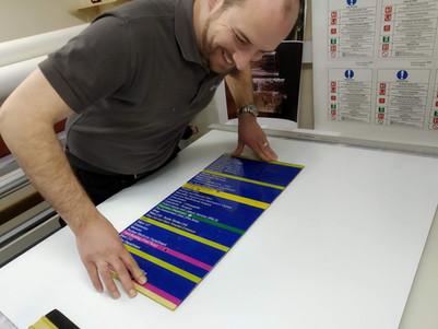 Acrylic Wayfinder Sign