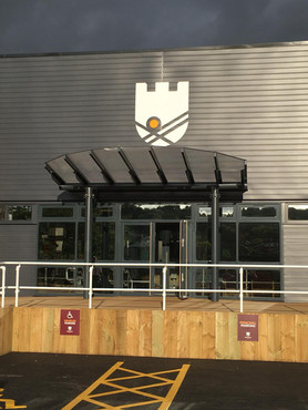 School Logo Sign