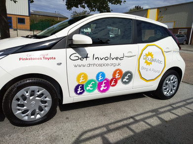 Charity Car Decals