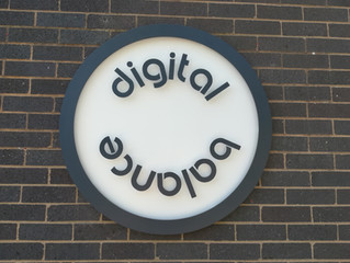 New Signage for Digital Agency