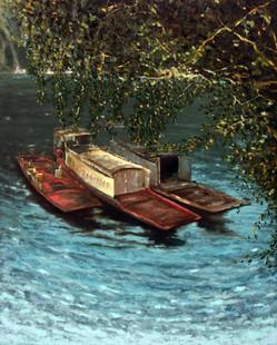 Yangtze river boats