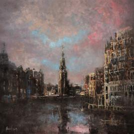 uitzicht Munt Amsterdam