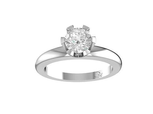Round Brilliant-Cut Diamond Ring - RP0541