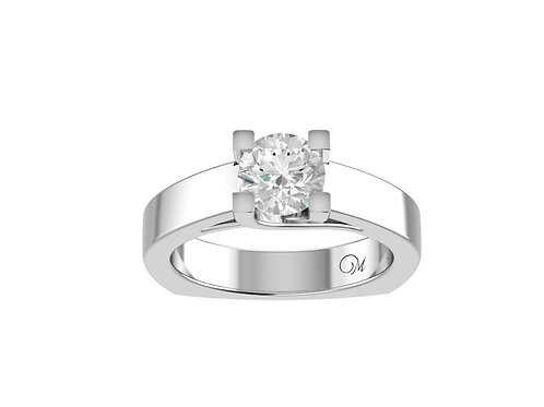 Classic Brilliant-Cut Diamond Ring - RP0651