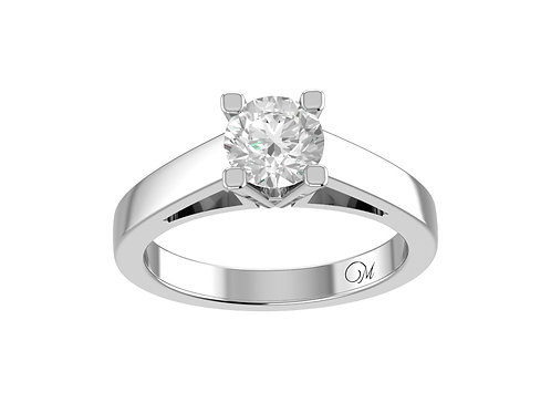 Round Brilliant-Cut Diamond Ring - RP0262