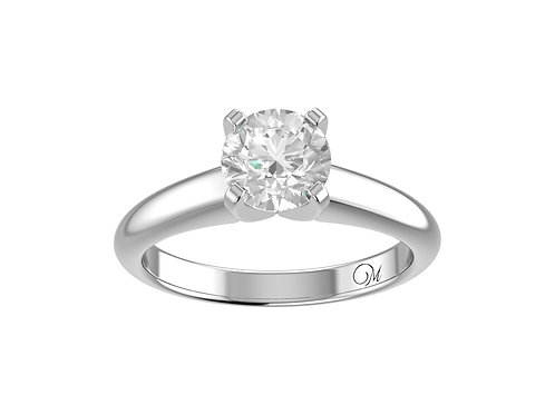 Classic Brilliant-Cut Diamond Ring - RP0508