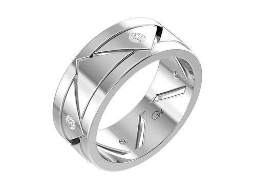 Men's Diamond Wedding Band - RP0531