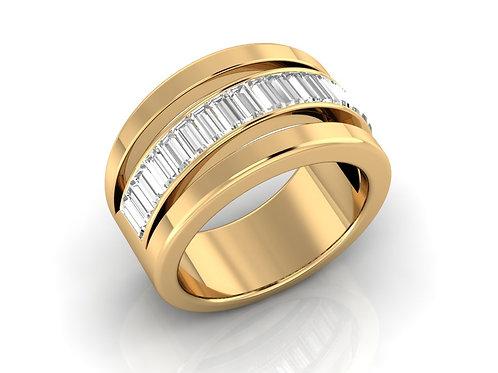 Men's Baguette-Cut Diamond Band - RP0476