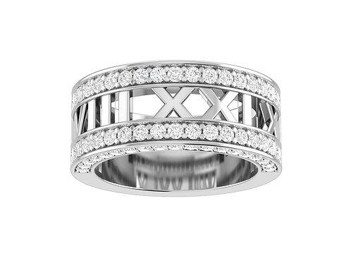 Personalized Diamond Band - RP0221