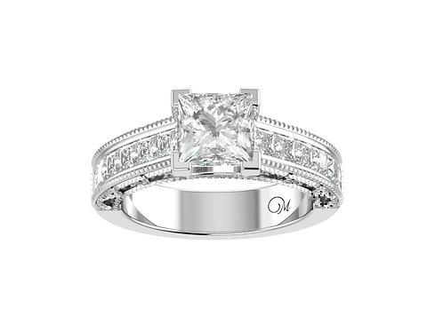 Princess-Cut Diamond Ring - RP0106
