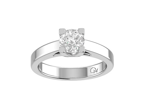 Classic Round Brilliant-Cut Diamond Ring - RP0555