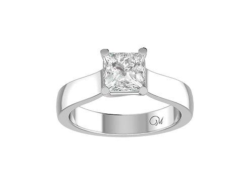 Princess-Cut Diamond Ring - RP0098