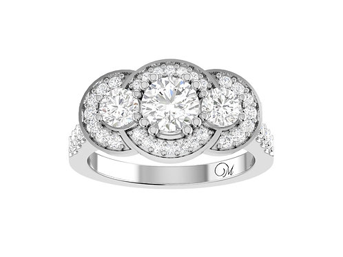 Glorious Brilliant-Cut Diamond Ring - RP1413